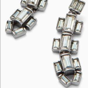 Stella & Dot Hatley Baguette Earrings